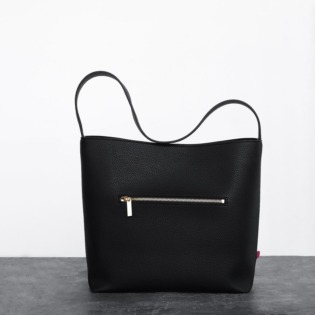Jane Shoulder Bag [Signet] - Black