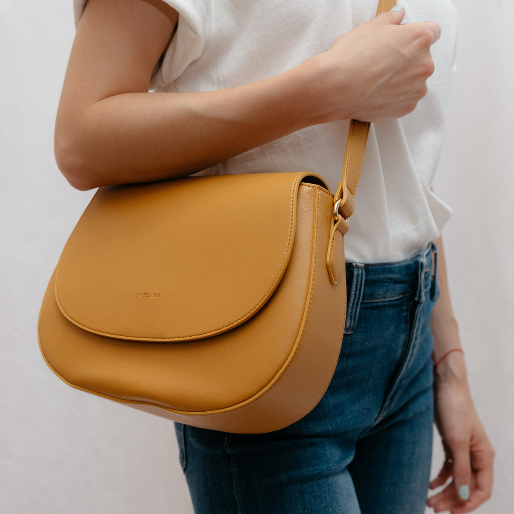 Morning Cross-body -  Mustard [Classic] [Sample Sale]