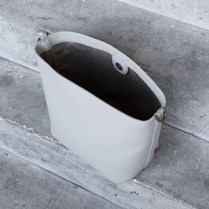 Angelou Mini Bucket [Signet] - Light Gray [Sample Sale]