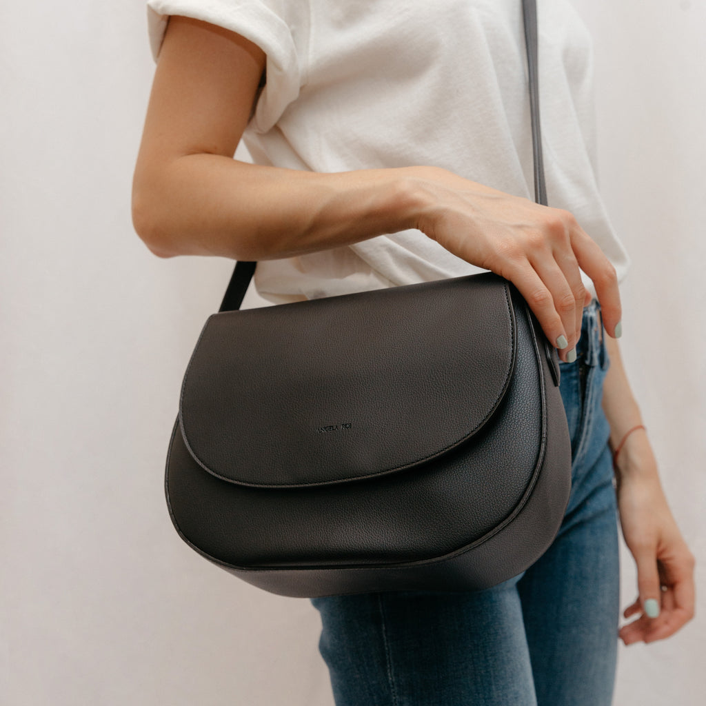 Morning Cross-body -  Black [Classic] [Sample Sale]