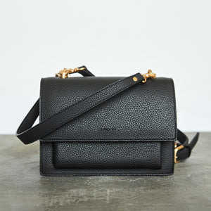 Eloise Satchel - Black [Sample Sale]