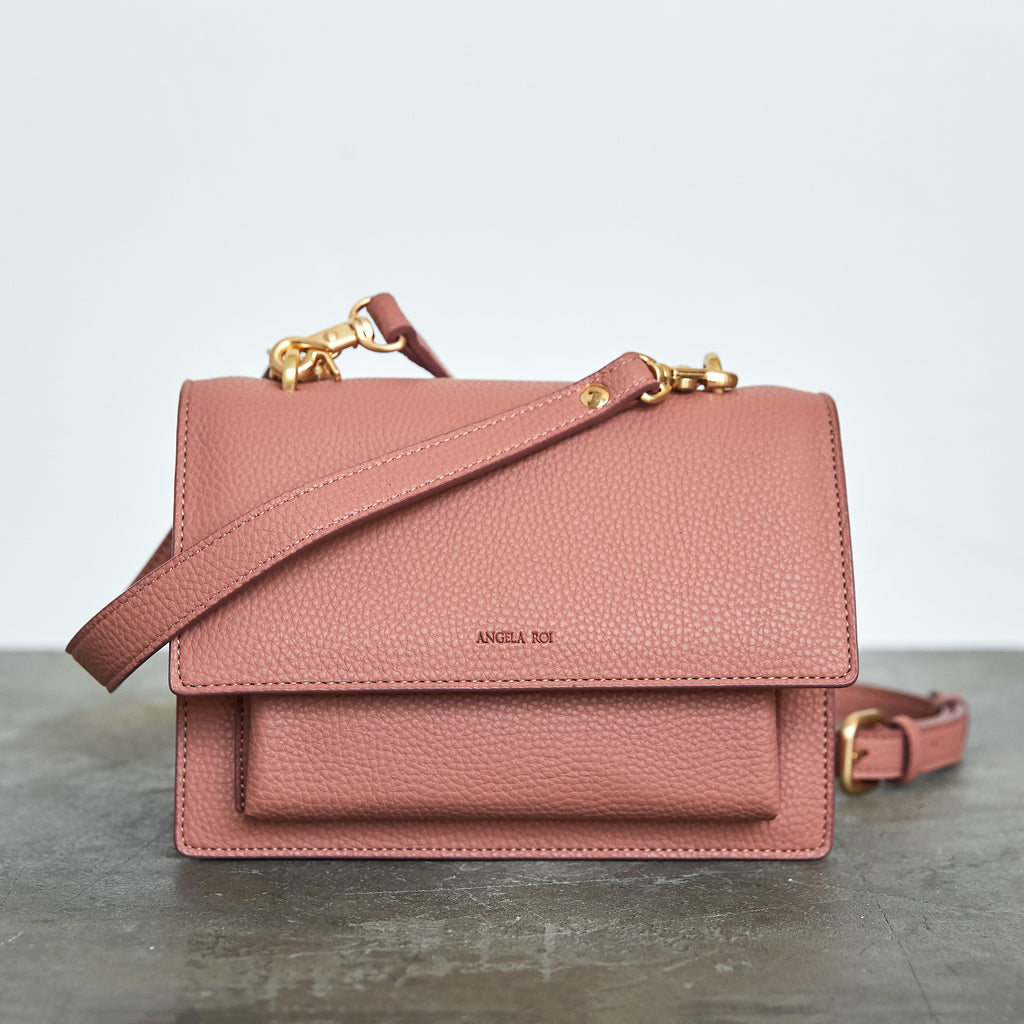 Eloise Satchel - Mauve Pink [Sample Sale]
