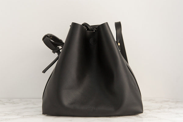 Jules Bucket Bag - Black