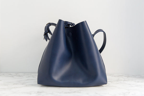 Jules Bucket Bag - Navy