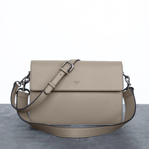 Hamilton Shoulder Bag [Signet] - French Beige