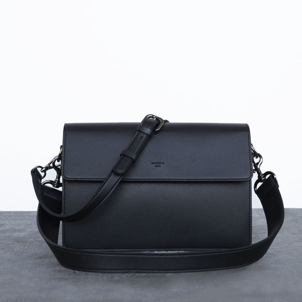 Hamilton Shoulder Bag [Signet] - Black