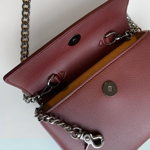 Hamilton Mini Chain [Signet] - Bordeaux