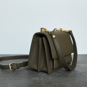 Eloise Satchel - Ash Brown