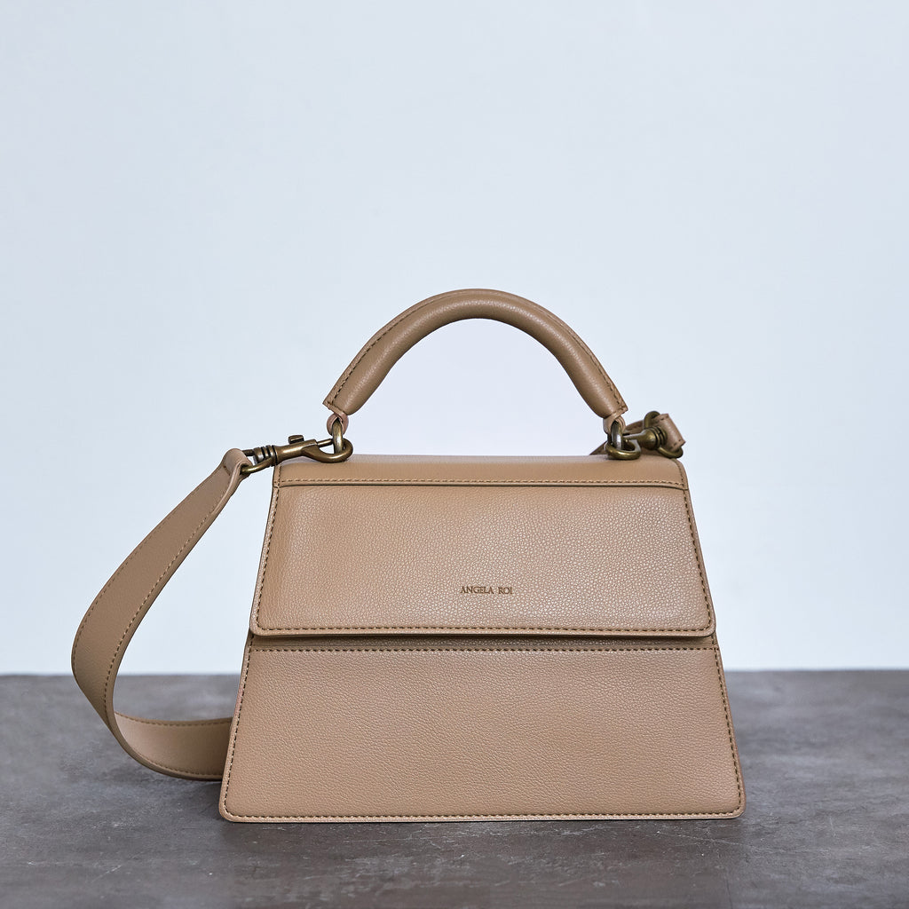 Hamilton Satchel - Taupe [Sample Sale]