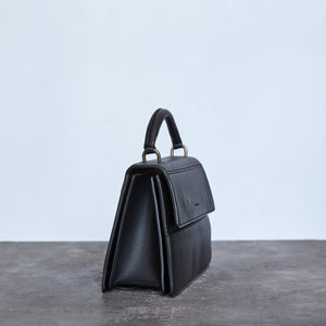 Hamilton Satchel - Black [Sample Sale]