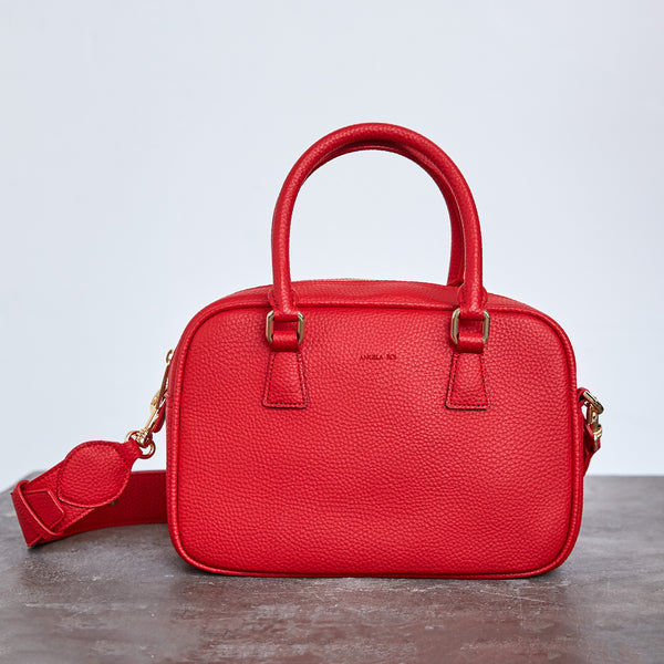 Barton Duffle Tote - Red