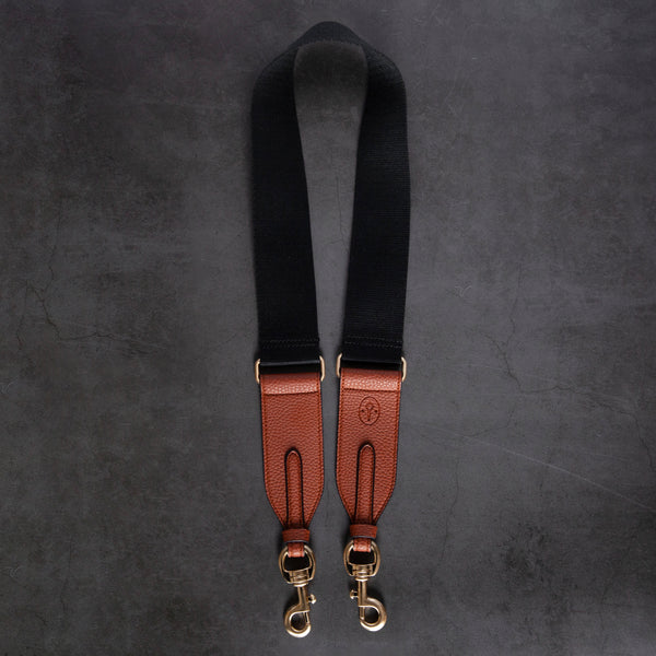 Webbing Strap - Black / Brown