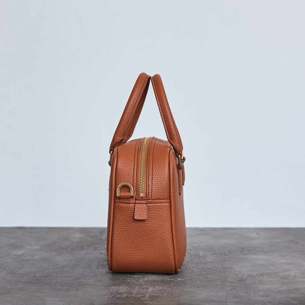 Barton Duffle Tote - Brown [Sample Sale]