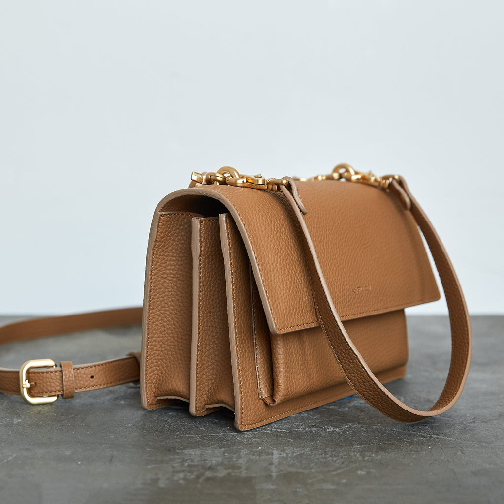 Eloise Satchel - Beige [Sample Sale]