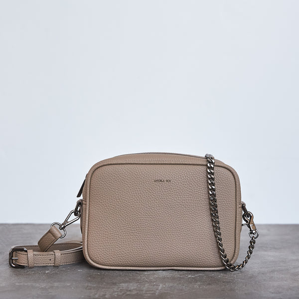 Grace Mini Cross-body - Light Mud Gray