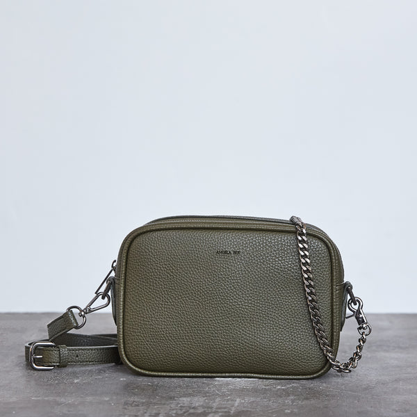 Grace Mini Cross-body - Deep Olive