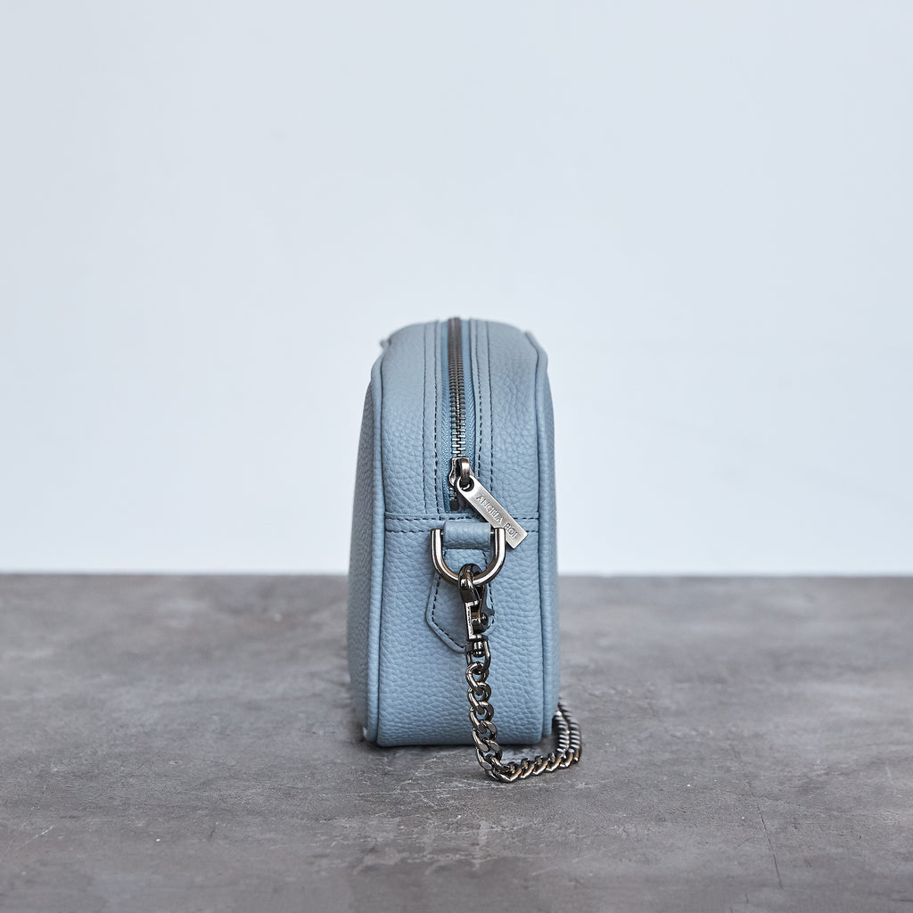 Grace Mini Cross-body - Light Nude Blue [Sample Sale]