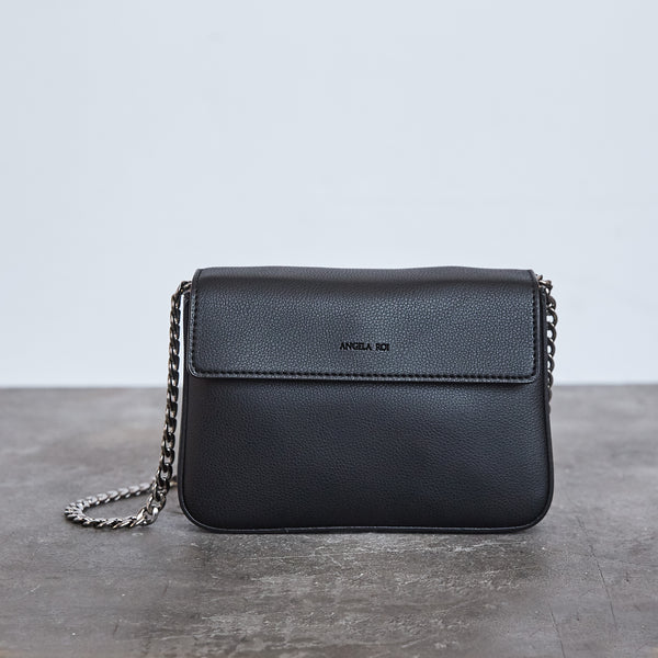Hamilton Mini Chain Cross-body - Black