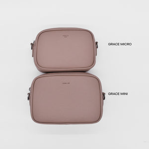 Grace Micro Crossbody [Signet] - Black [Sample Sale]