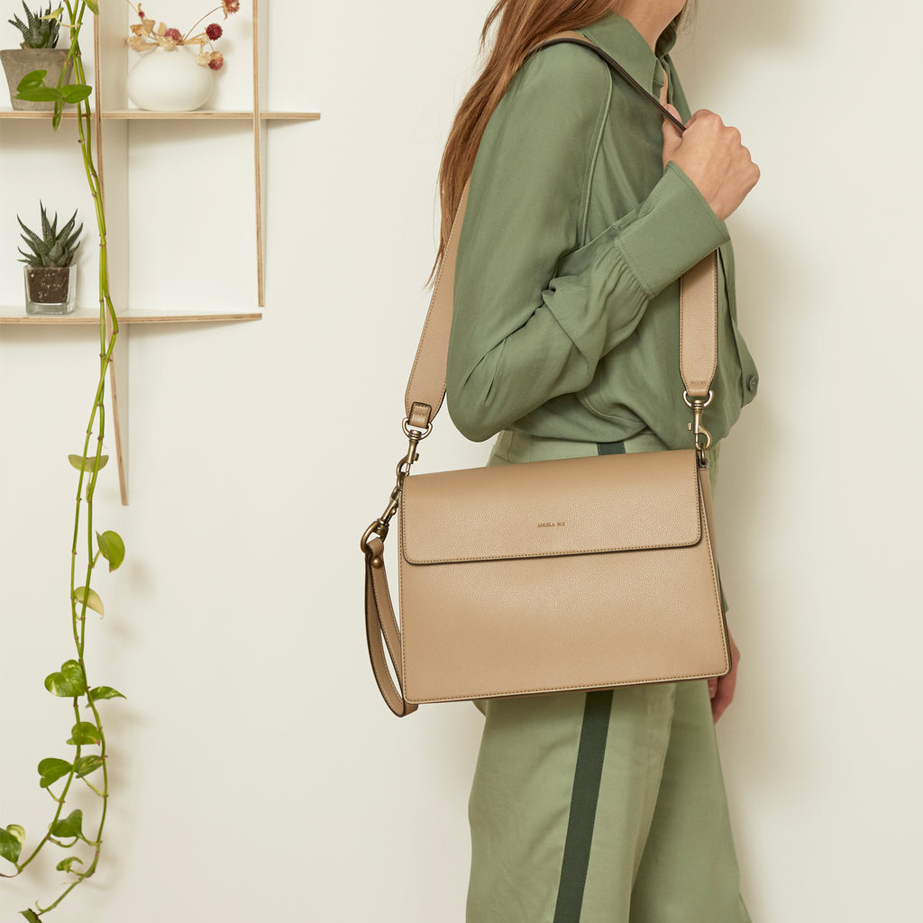 Hamilton Shoulder Bag - French Beige