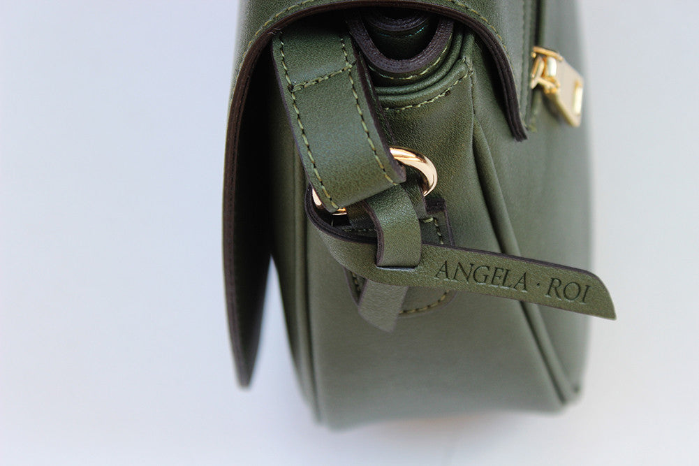 Morning Cross-body - Dark Green (Sample Sale)