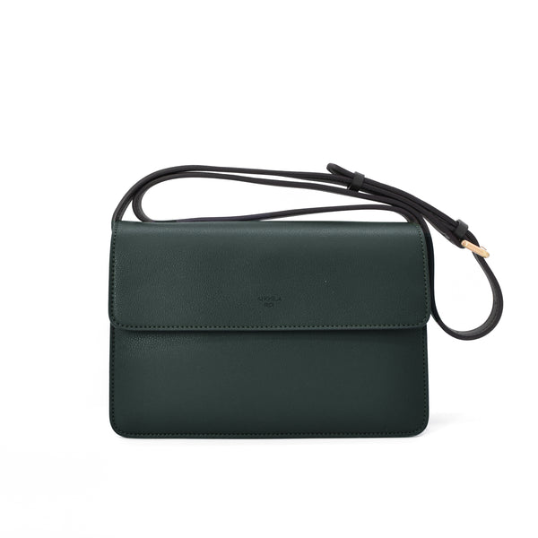 Hamilton Crossbody [Signet] - Dark Green [Sample Sale]