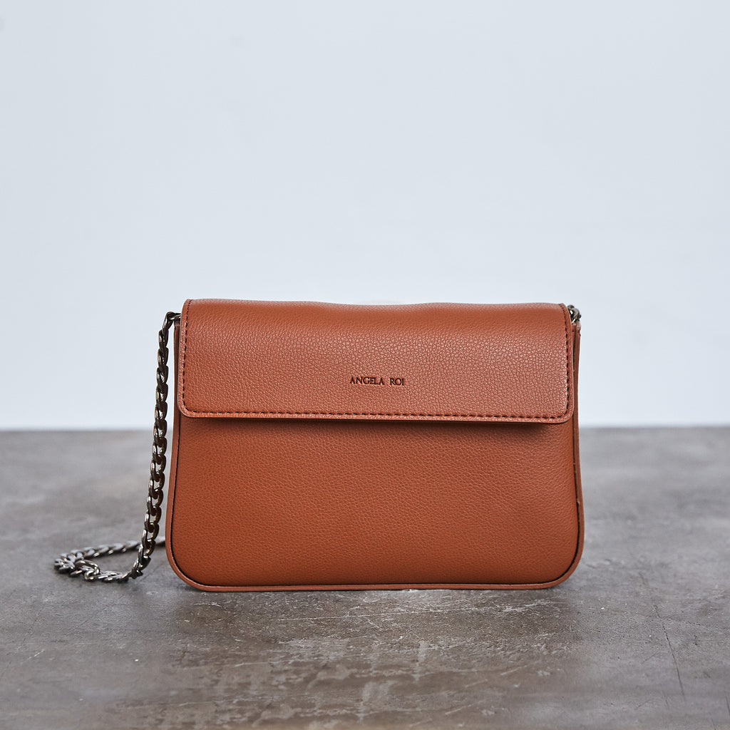Hamilton Mini Chain Cross-body - Brown