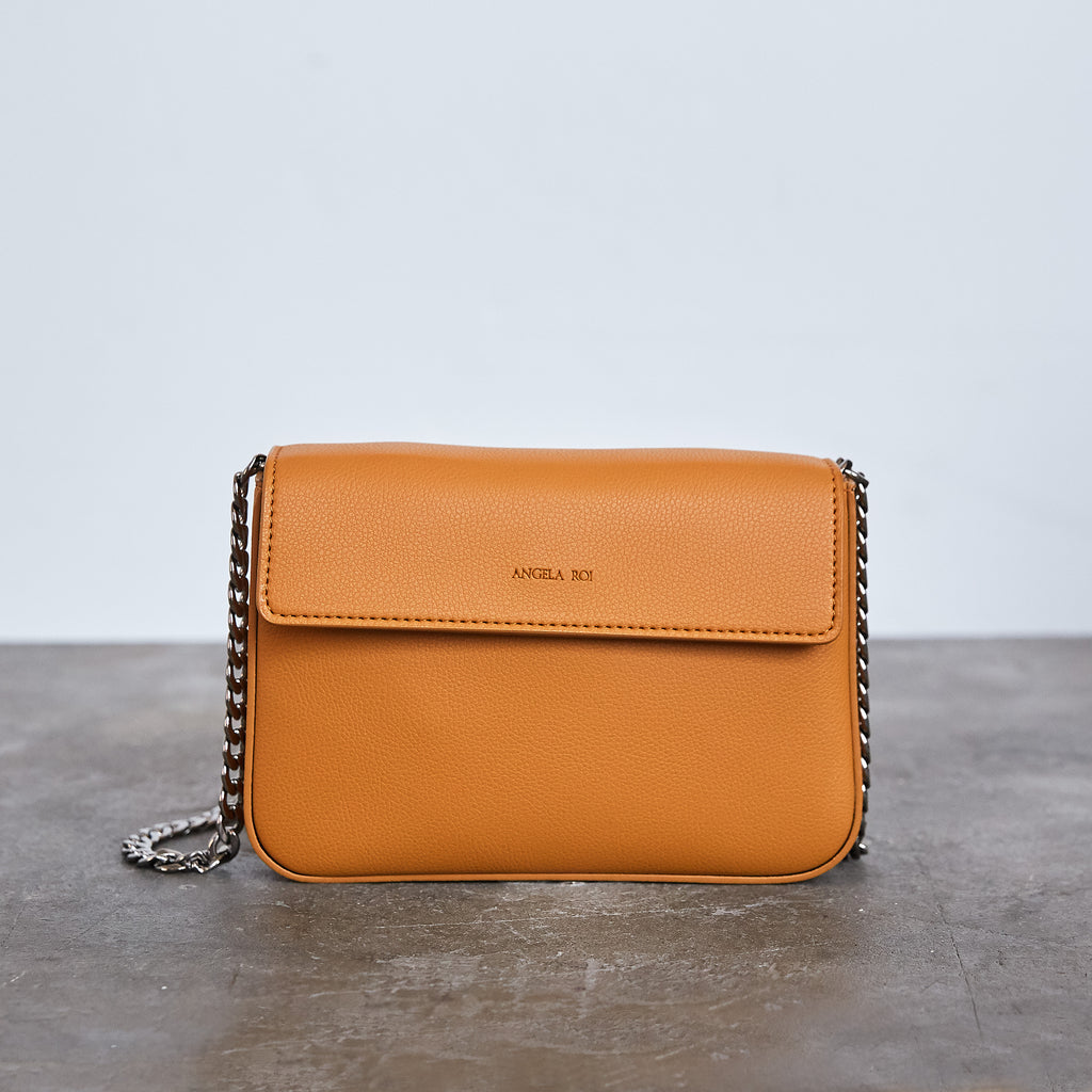 Hamilton Mini Chain Cross-body - Mustard