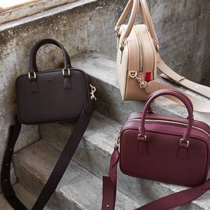 Barton Duffle Tote [Signet] - Bordeaux [Sample Sale]