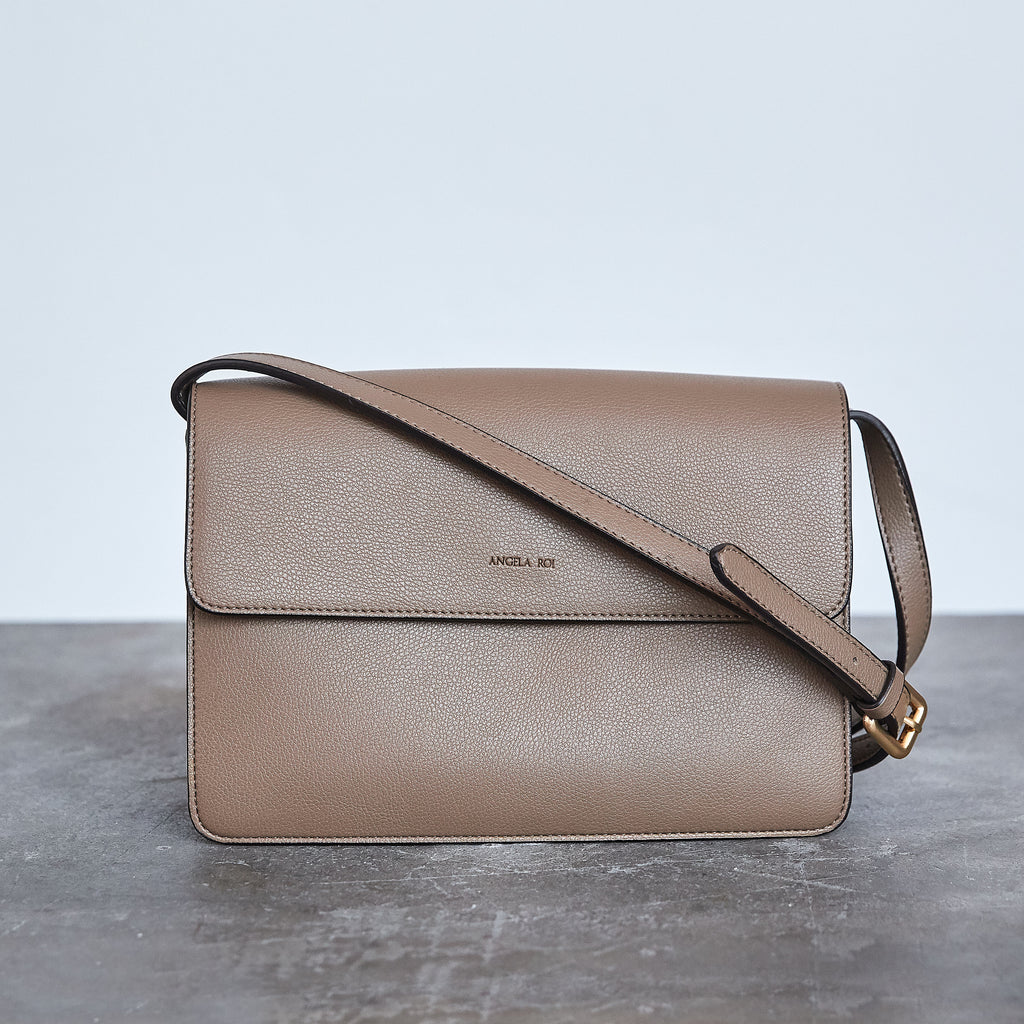 Hamilton Cross-body - Mud Beige [Sample Sale]