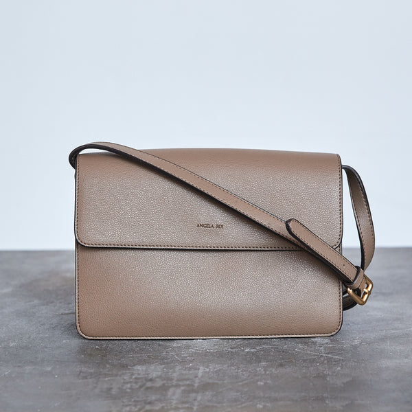 Hamilton Cross-body - Mud Beige