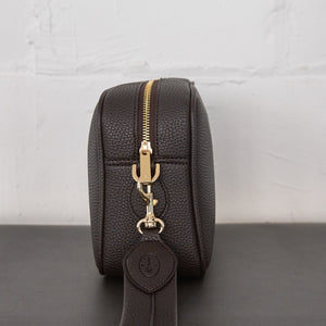 Grace Crossbody [Signet] - Dark Brown