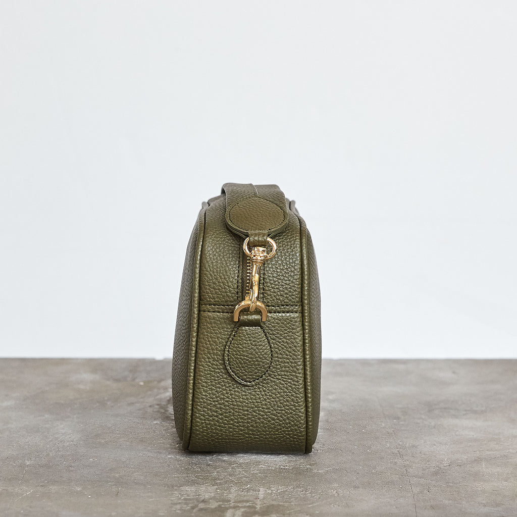 Grace Cross-body - Deep Olive [No AR Logo]
