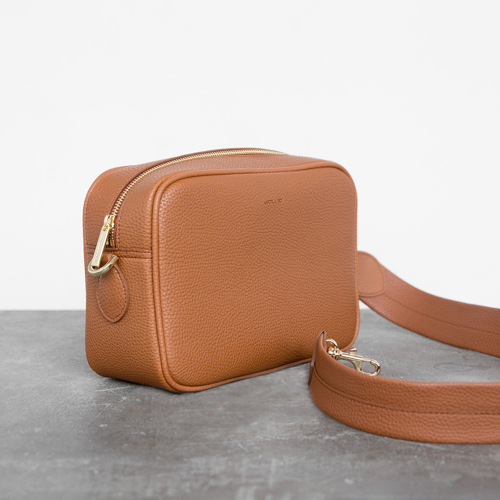 Grace Cross-body - Brown [No AR Logo]