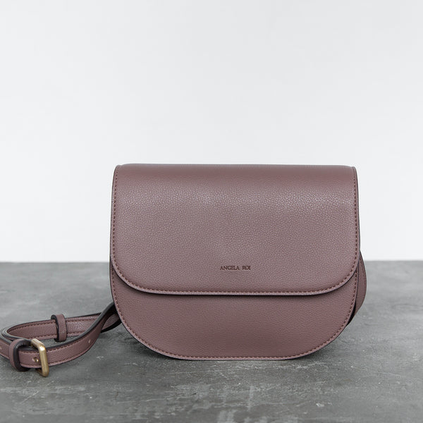 Hamilton Round Cross-body - Ash Rose