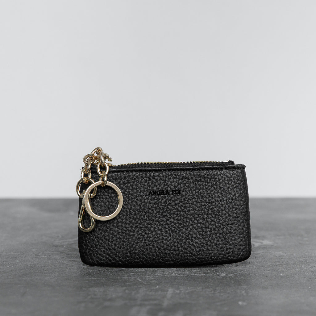 Zuri Card Pouch - Black