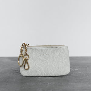 Zuri Card Pouch - Cloud [Sample Sale]