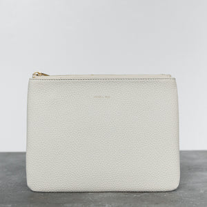 Zuri Travel Pouch - Cloud [Sample Sale]