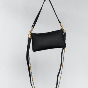 Zuri Multifunction Pouch - Black [Sample Sale]