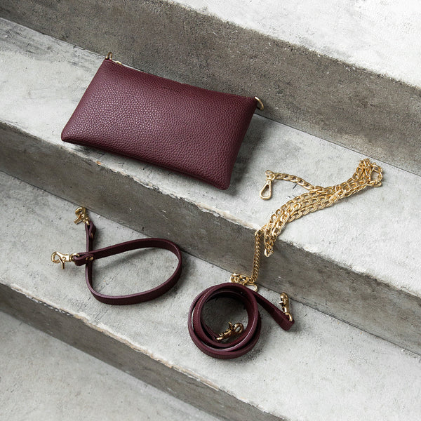 Zuri Multifunction Pouch - Bordeaux