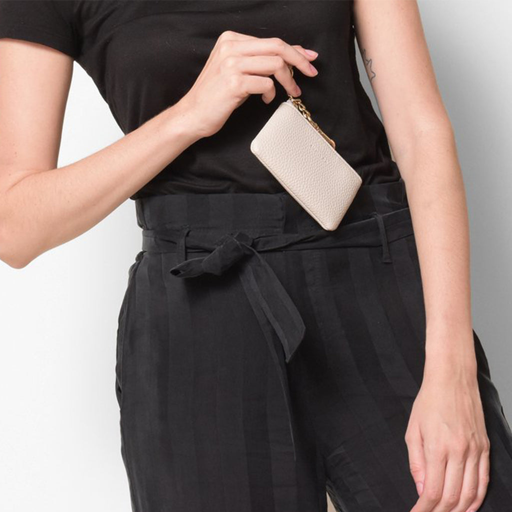 Zuri Card Pouch - Black [Sample Sale]