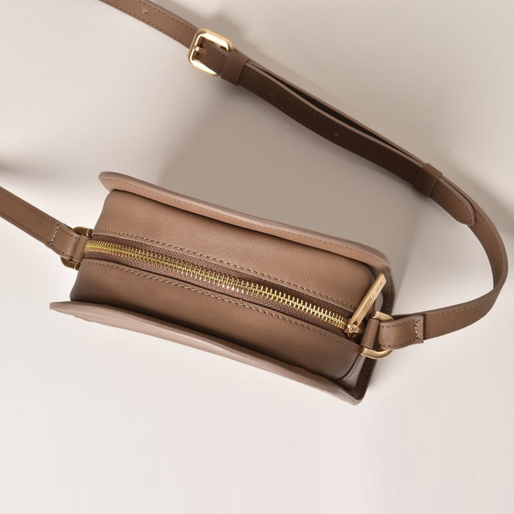 Luna Cross-Body - Mud Gray [Sample Sale]