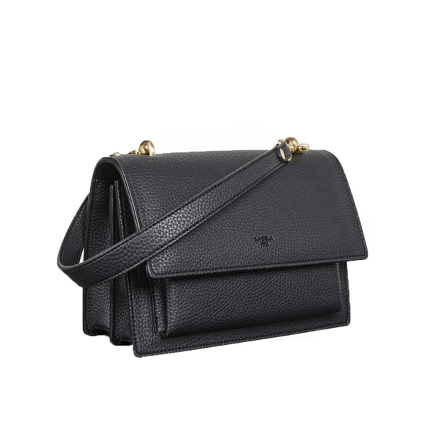Eloise Satchel [Signet] - Black [Sample Sale]