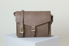 Anya Cross-body - Mud Gray