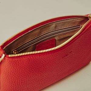 Zuri Multifunction Pouch - Red [Sample Sale]
