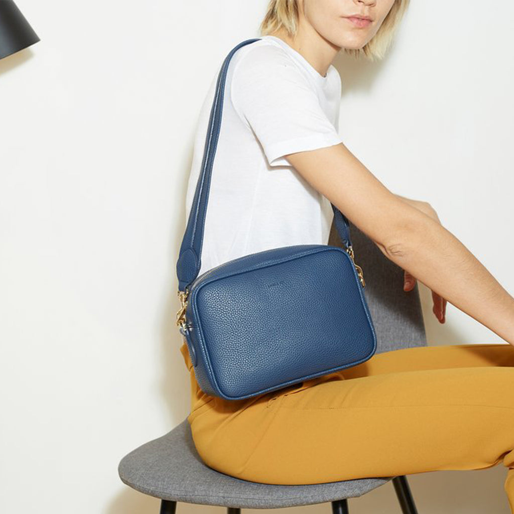 Grace Cross-body - Navy [Sample Sale]