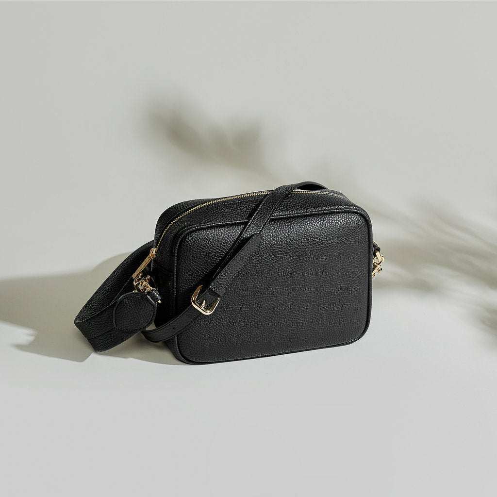 Grace Cross-body - Black [No AR Logo] [Pre-order]