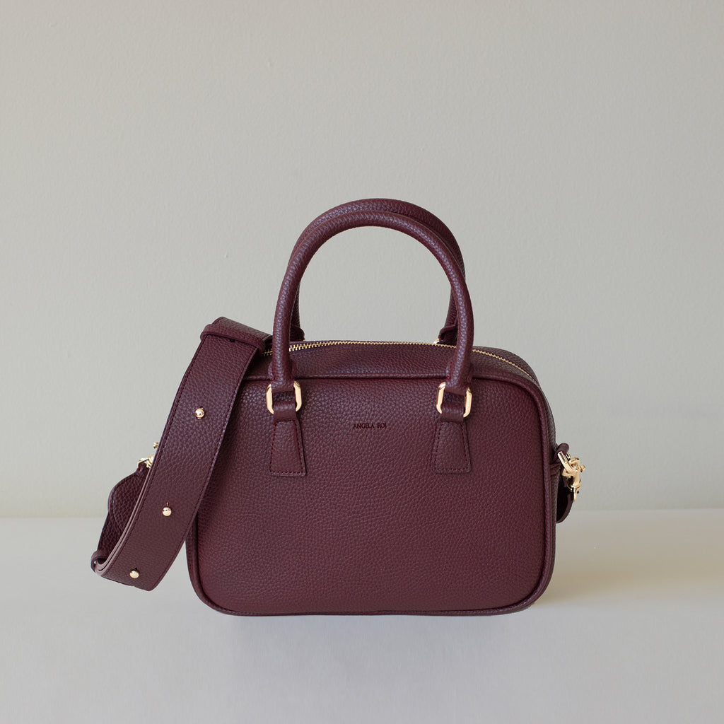 Barton Duffle Tote - Bordeaux [Sample Sale]