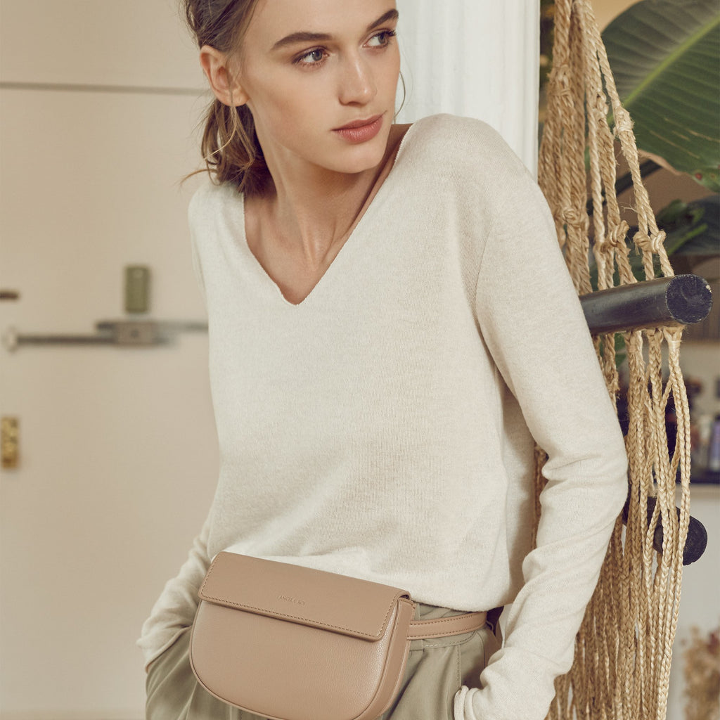 Hamilton Belt Bag / Cross-body - Ash Rose [Sample Sale]
