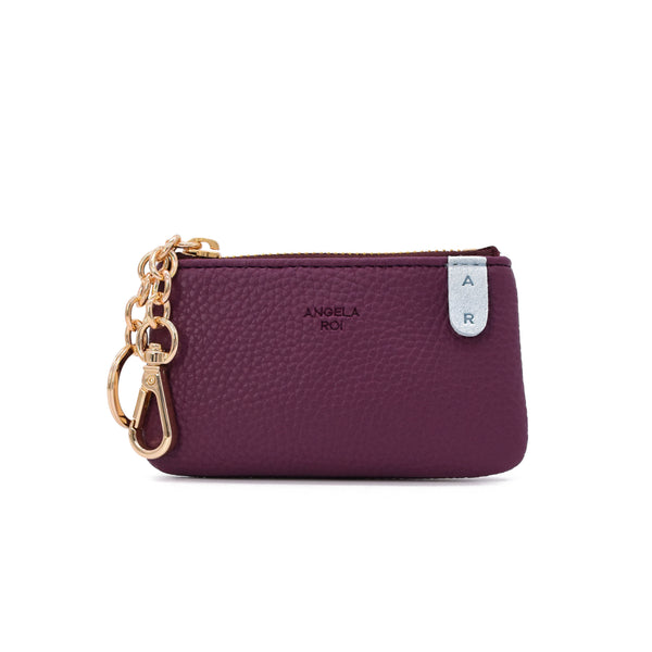 Zuri Card Pouch [Signet] - Purple / Light Blue